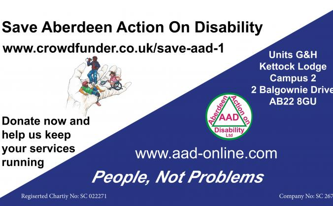 Save aberdeen action on disability image