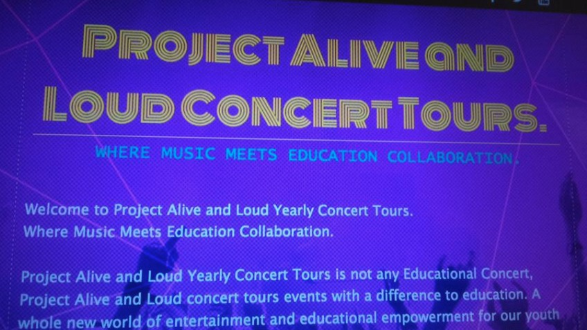 Project Alive and Loud Concert Tours
