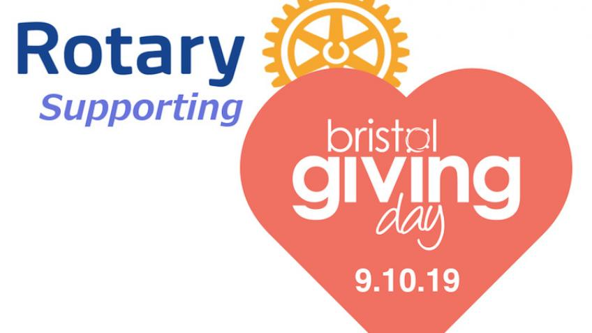 Rotary Clubs supporting Bristol Giving Day