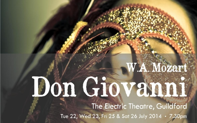 The Black Cat Opera Company presents Don Giovanni