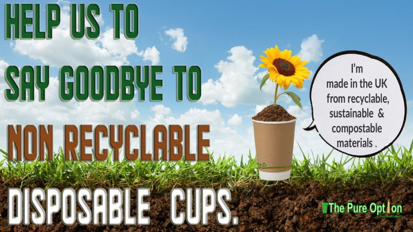 Say Goodbye to Non Recyclable Disposable Cups