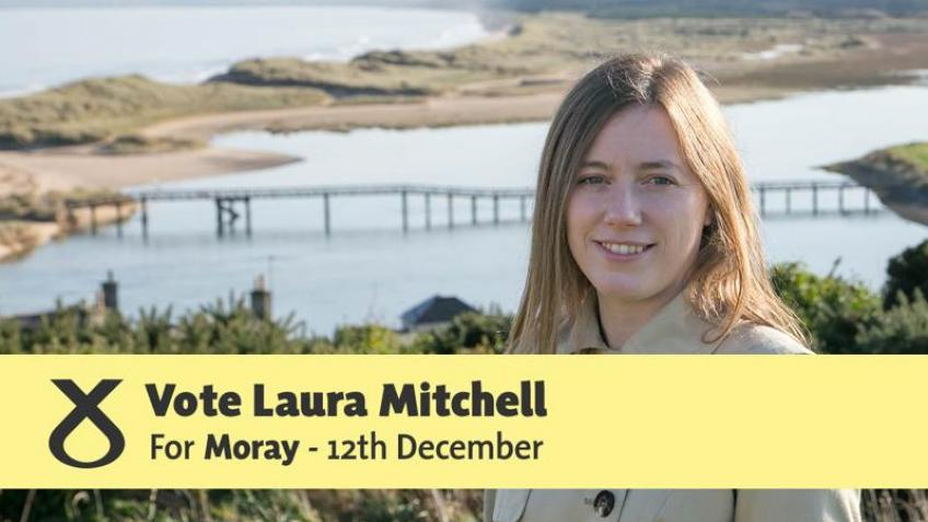 Elect Laura Mitchell as SNP MP for Moray