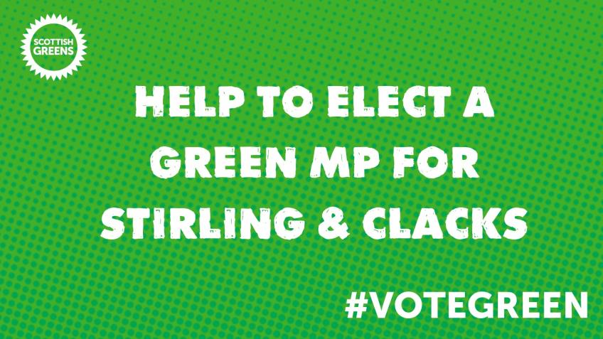 Stirling & Clacks Greens General Election Fund