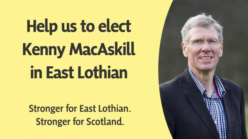 Help Kenny MacAskill win in East Lothian