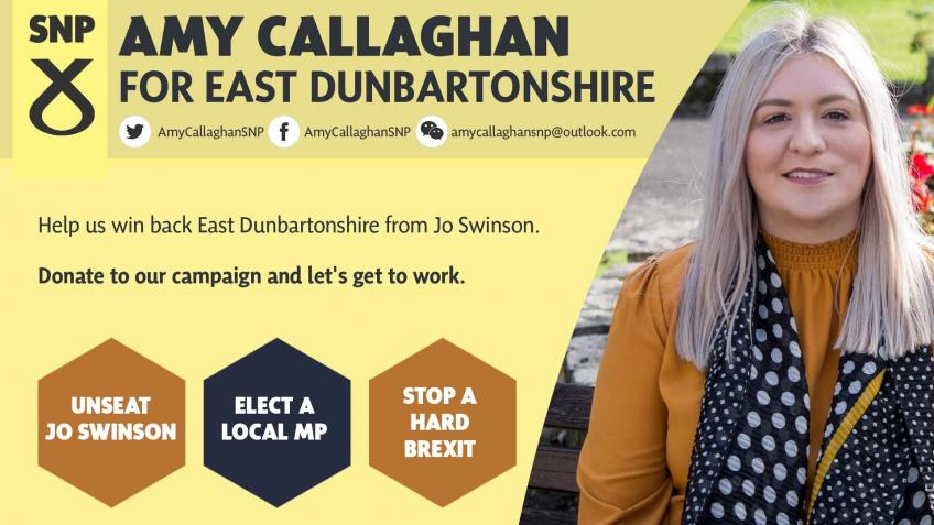 Elect Amy Callaghan as MP for East Dunbartonshire