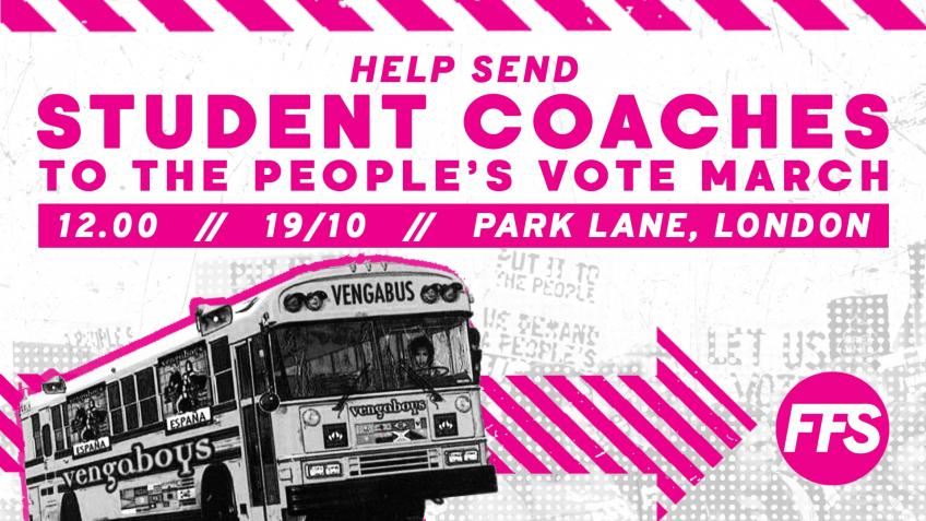 People's Vote - Student Coach Fund!  |  FFS