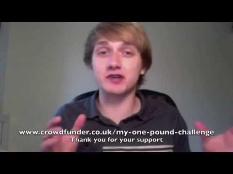 The Story Of My One Pound Challenge A Crowdfunding Project In