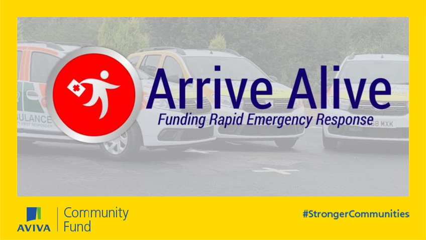 Arrive Alive supports medically trained volunteers