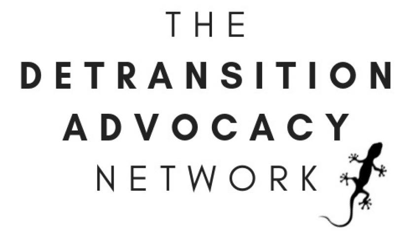 Website for 'The Detransition Advocacy Network'
