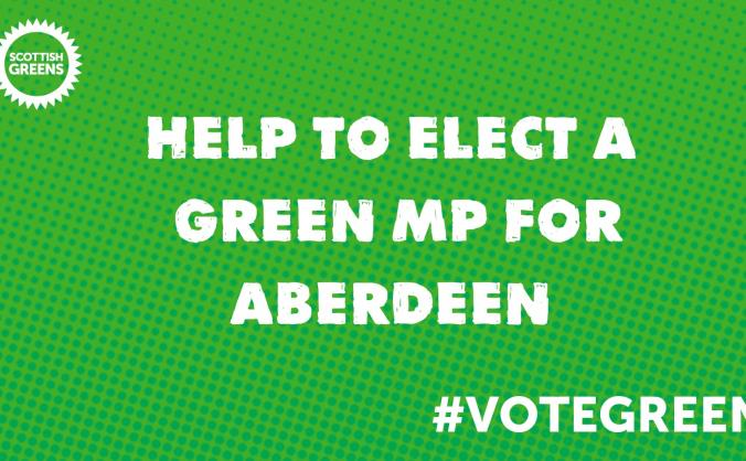 Aberdeen/shire greens general election fund image