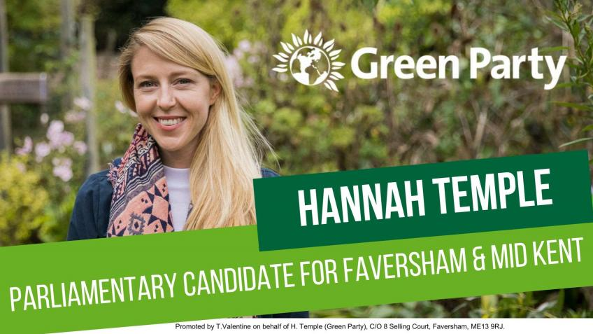 Support Green Candidate for Faversham & Mid Kent