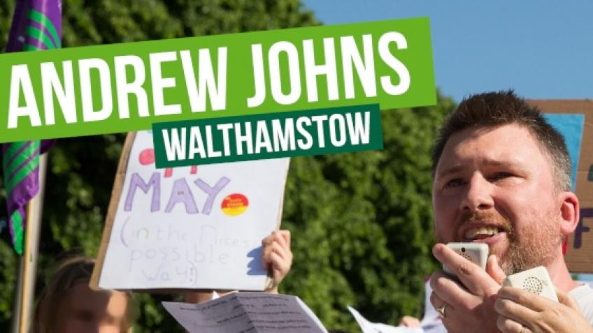 A Green Party Candidate for Walthamstow