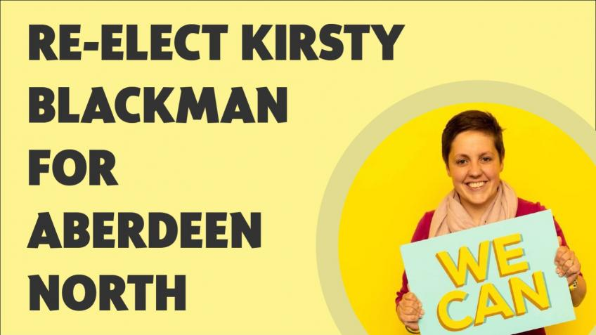 Help re-elect Kirsty Blackman for Aberdeen North
