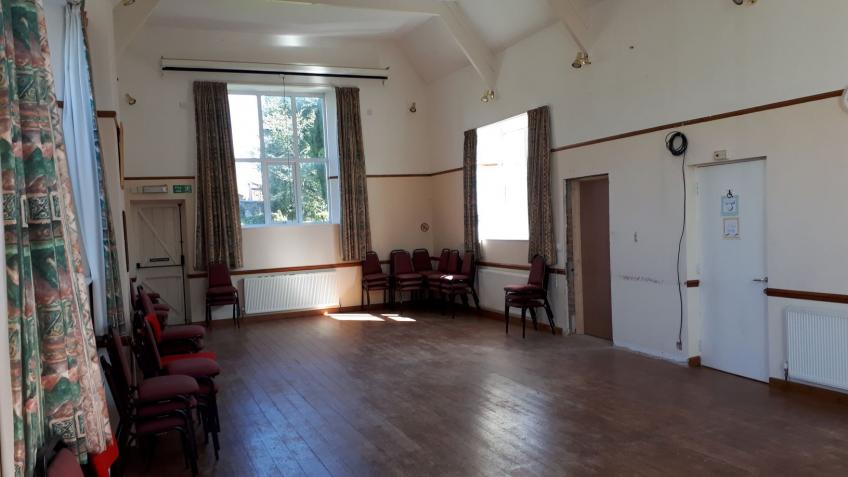 A village hall fit for the community's needs