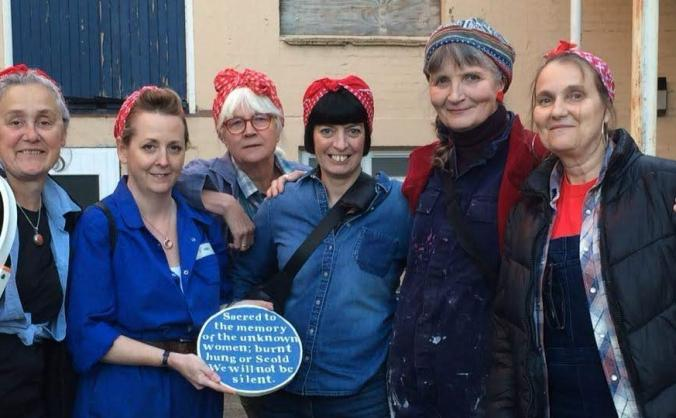 Rosie's plaques on tour! image