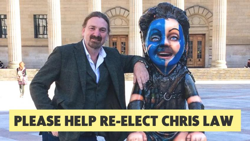 Help Re-Elect Chris Law, A Strong Voice For Dundee