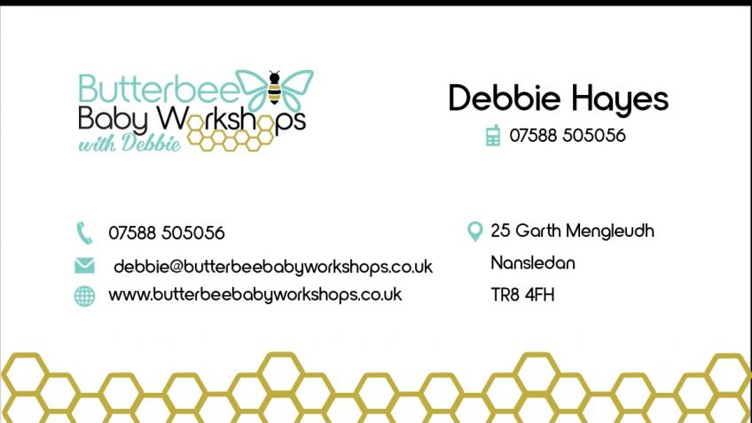 Butterbee Baby workshops with Debbie