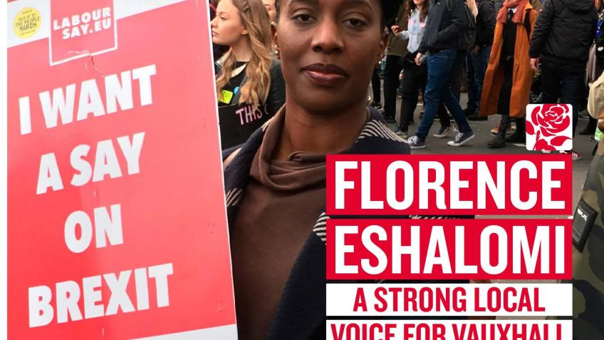 Vauxhall Campaign Fund: Help Elect Florence