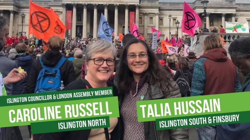 Islington Green Party General Election 2019