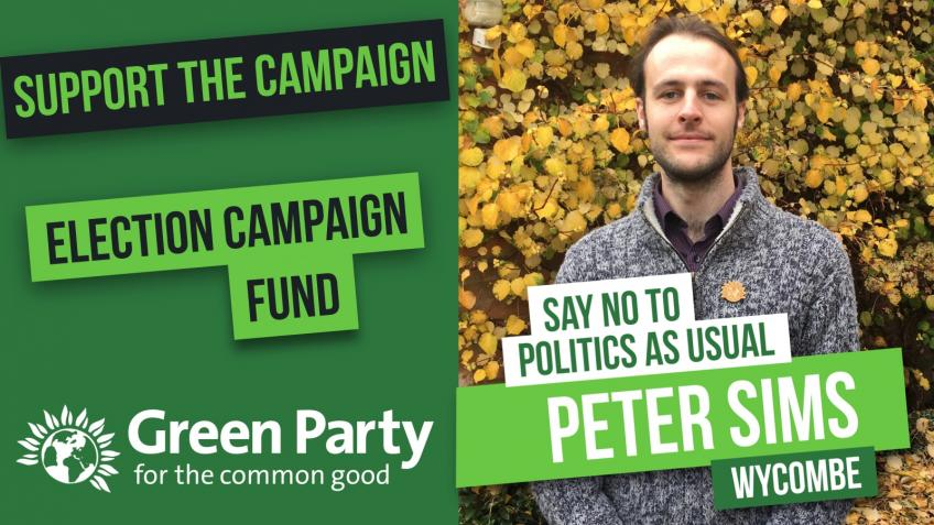 Peter Sims, Green Party for Wycombe
