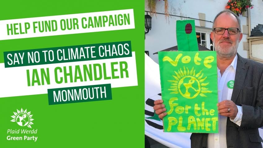 Ian Chandler's campaign to be Monmouth's Green MP