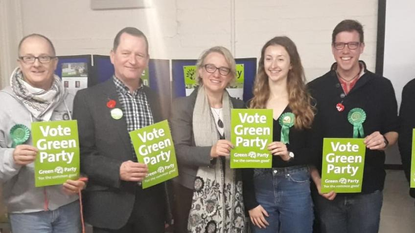 Stand a Green candidate in Hertford and Stortford