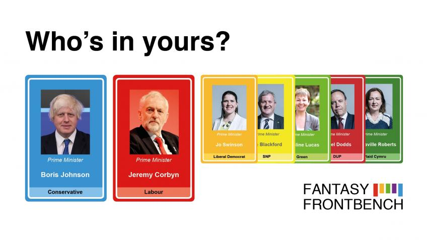 Fantasy Frontbench - Election Fund 2019