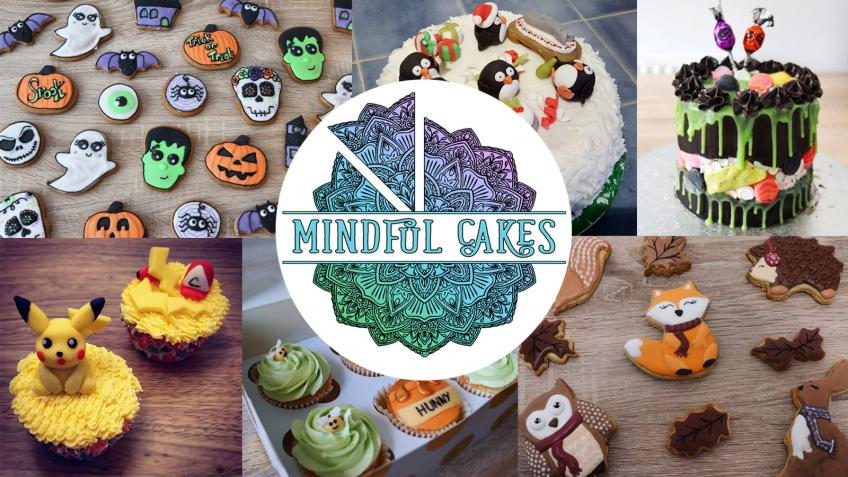 "Mindful Cakes - promoting ""piece"" of mind"