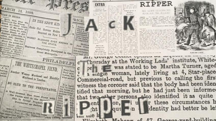 Jack the Ripper a new suspect.