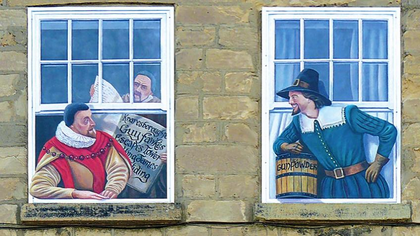 Knaresborough Town Windows #2