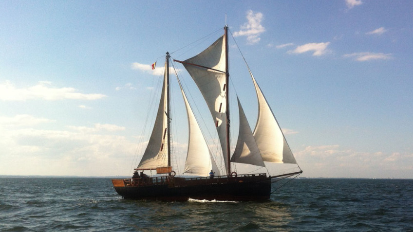 Classic Sailing on board the Norda