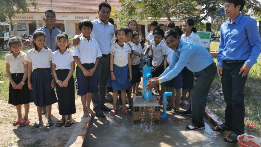 Water wells for Cambodia