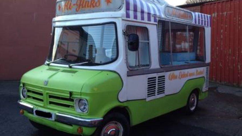 Ice Cream Van Into A Mobile Bar