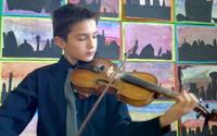 Extraordinary 11 yr old violinist