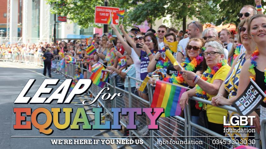 Help save LGBT lives: take a #LEAPforEQUALITY
