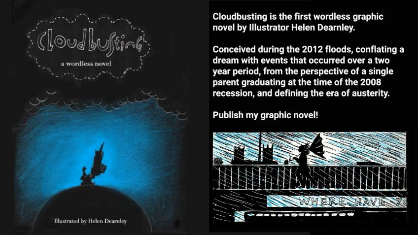 Cloudbusting, the graphic novel.