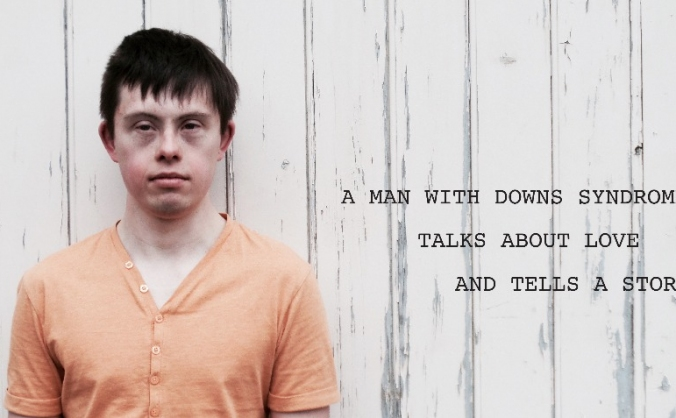 A man with downs syndrome talks about love image