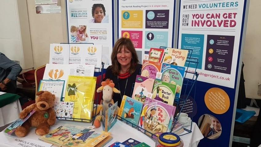 The Norfolk Reading Project  helping children read