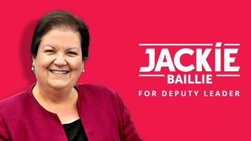 Jackie Baillie for Scottish Labour Deputy Leader - a Charities ...