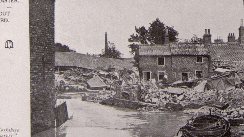 Seeking donations to commemorate the Louth Flood