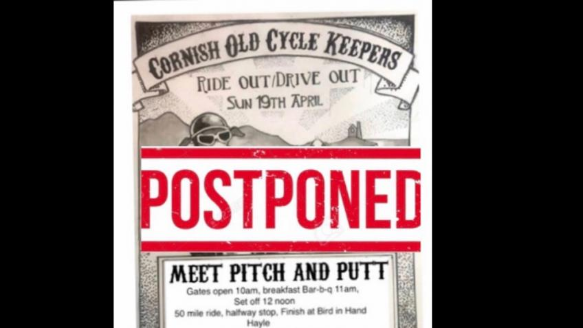 CORNISH OLD CYCLE KEEPERS , ride out/drive out