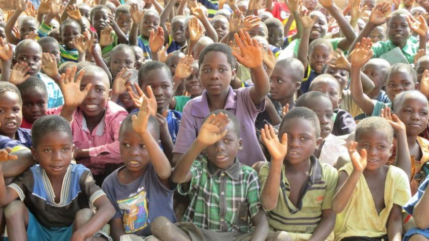 Teaching children and helping adults in Malawi