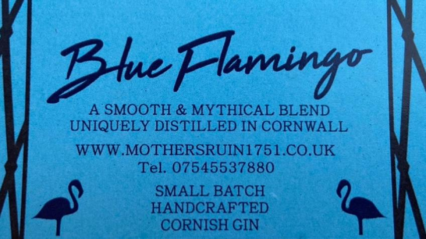 Blue Flamingo Gin by Mother's Ruin 1751