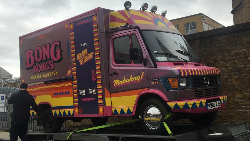 Help us get our street food van back on the road!