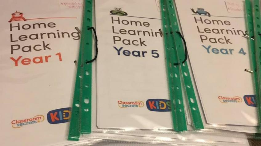 Learning packs and resources for children