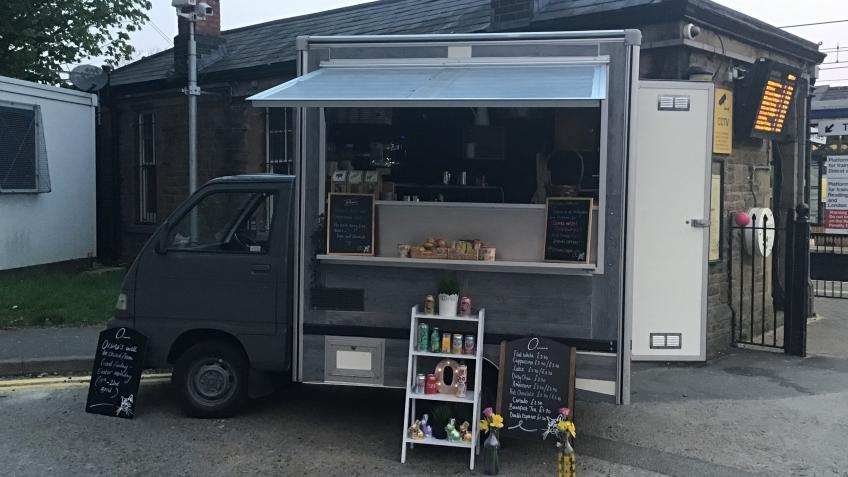 Save The Coffee Van at Tilehurst Station!