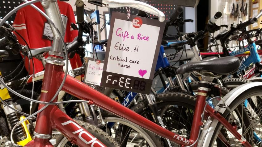 Gift a Bike to Key Workers during COVID-19