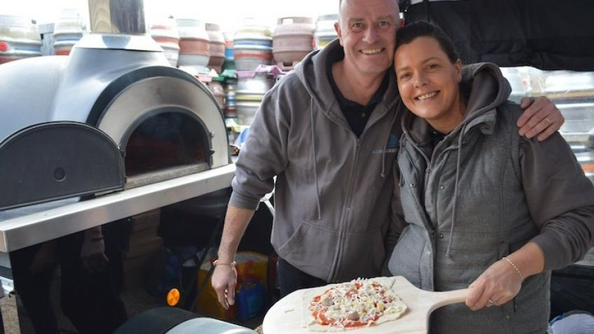 keep local Wood Fired Pizza Cooking business going