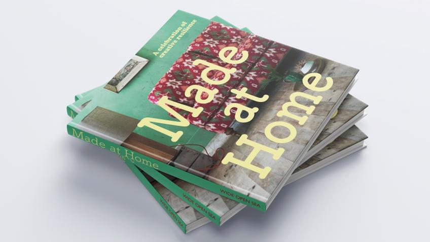 Made at Home: book in aid of Covid-19 homelessness