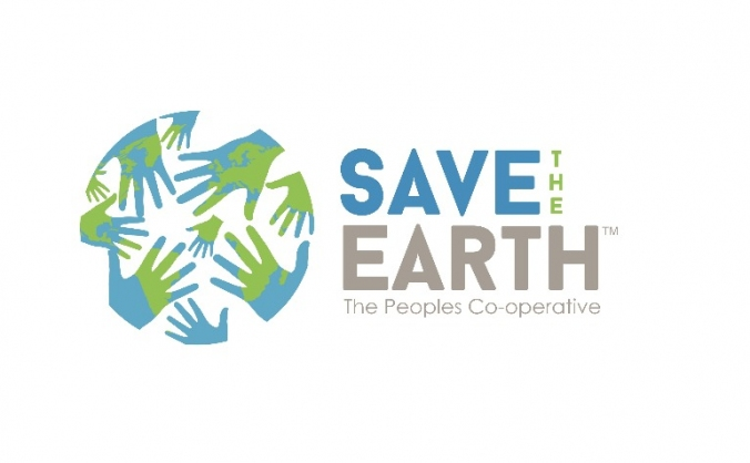 Save the earth - the people's cooperative image